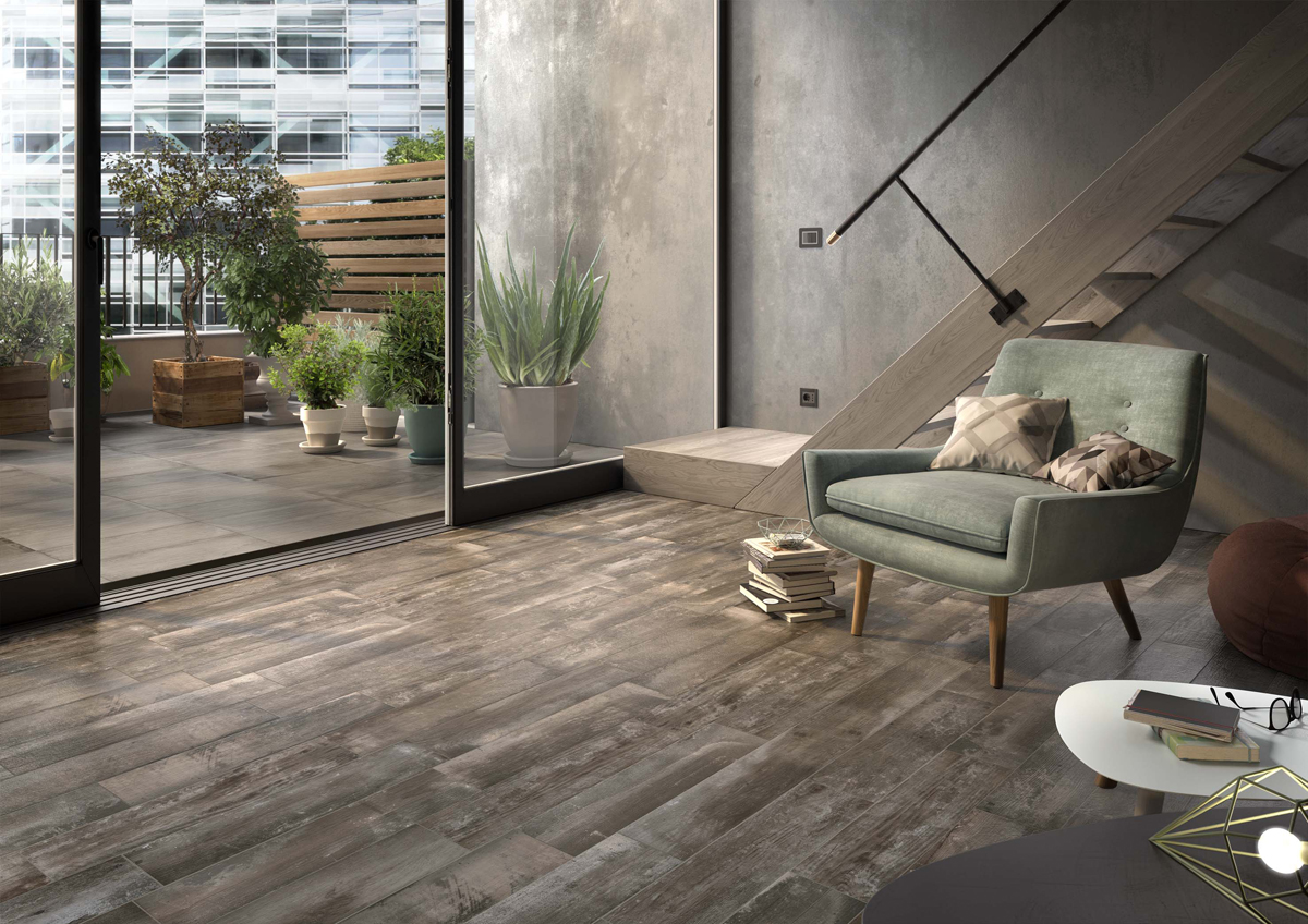 Porcelain Effect Wood Tiles | Hutton Tiles Ltd